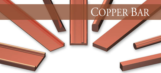 Copper Bar, Rod & Shapes